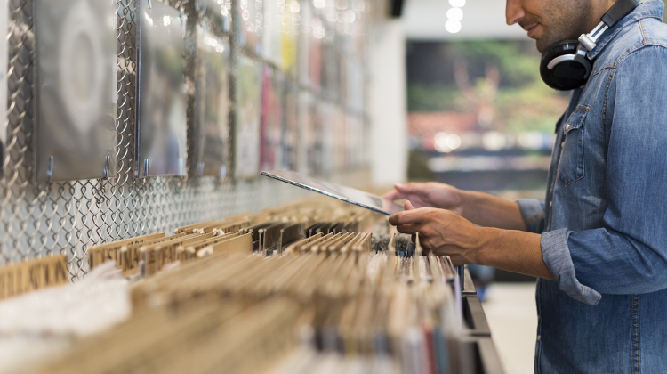 Record Stores are closed and on lockdown