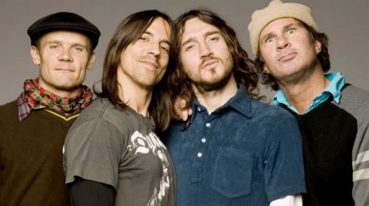 Red Hot Chilli Peppers - with Frusciante
