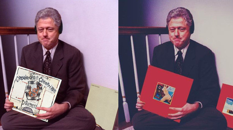 Bill Clinton Swag