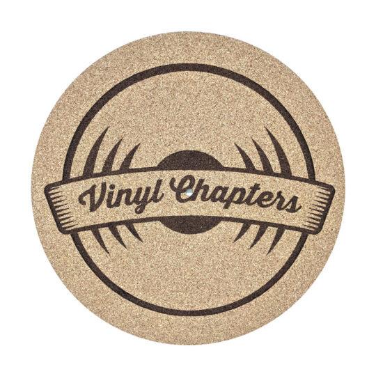 Vinyl Chapters Logo Platter Mat
