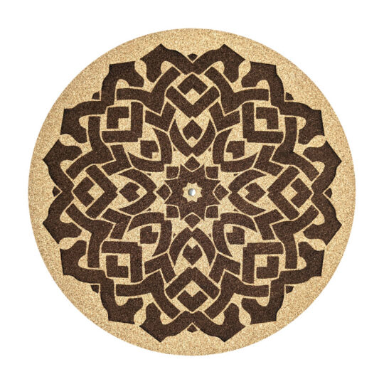 Celtic cork platter mat