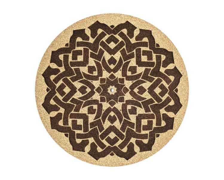 Celtic cork platter mat