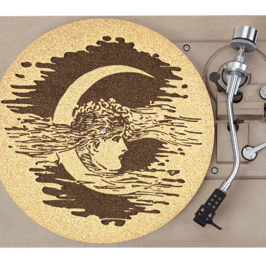Moon Girl Plater Mat Record Player