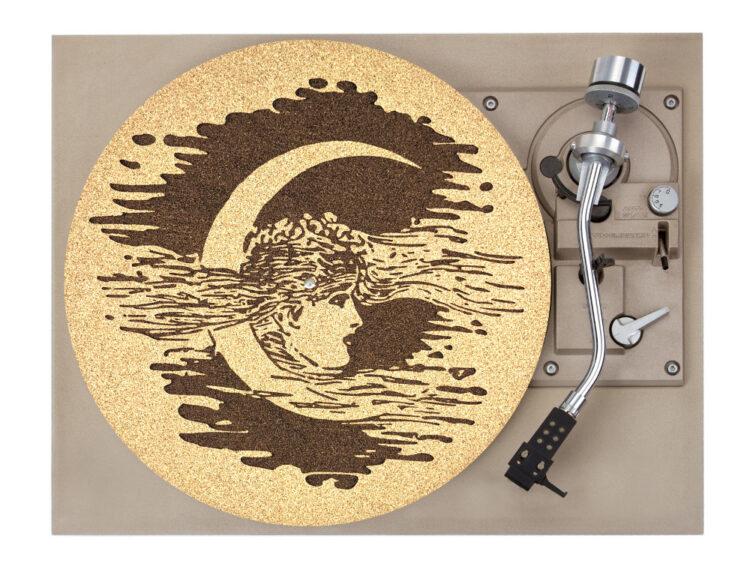 Moon Girl Plater Mat Record Player