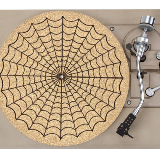 Spiderweb Platter Mat Record Player