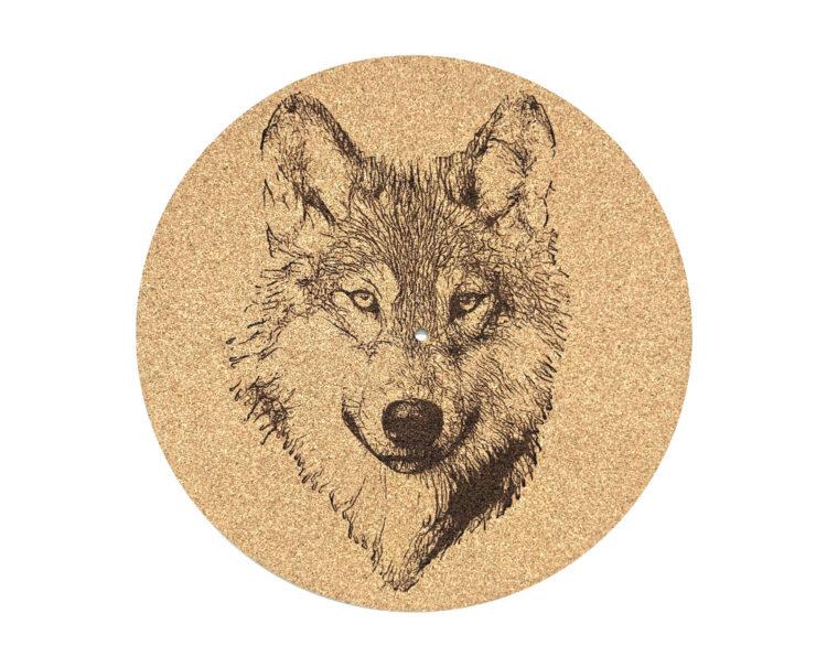 Wolf Platter Mat
