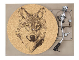 Wolf Platter Mat Record Player