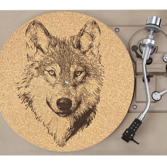 Wolf Platter Mat Record Player