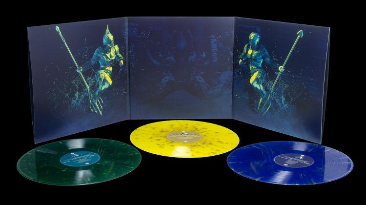 Aquaman vinyl soundtrack