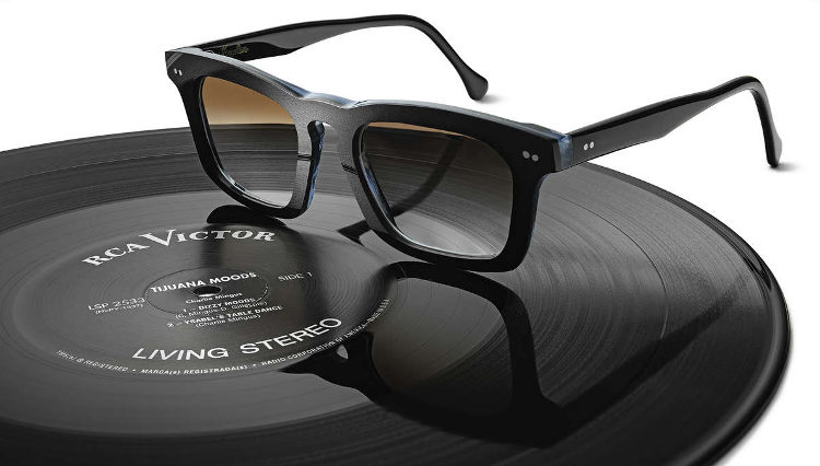 Vinylize glasses cut from records