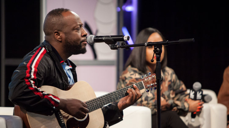Wyclef Jean performing at SXSW